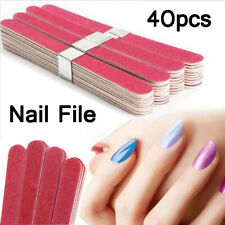 40pcs Sanding Buffer Block Grinding Stick Dead Skin Remove Scrub Stick File Nail