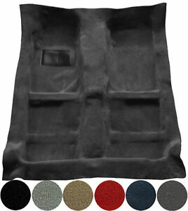 Passenger Area 4 Door 897-Charcoal Plush Cut Pile 2001 to 2005 Ford Explorer Sport Trac Carpet Custom Molded Replacement Kit