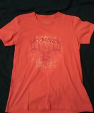 pink shirt, est 1986 front design, cotton, team real tree, deer, hunting
