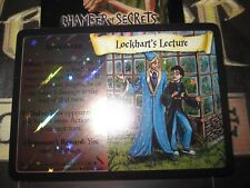 HARRY POTTER TCG CARD CHAMBER OF SECRETS LOCKHART'S LECTURE 33/140 RARE FOIL