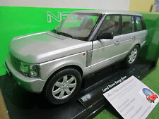LAND ROVER RANGE ROVER gris au 1/18 WELLY 12536W voiture miniature