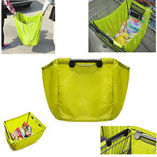 Grab Bag Clip-To-Cart Reusable Grocery Supermarket Shopping Bag Travel bag OP