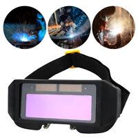 Automatik Solar Schweißbrille Schweißmaske Schutzbrille Blendschutz Augenschutz
