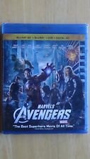 Marvel's THE AVENGERS Blu-Ray + Blu-Ray 3D + DVD + Digital HD New Sealed