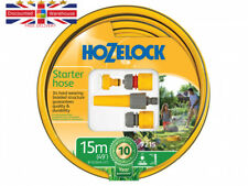 Hozelock Starter 15m Hose Set: Tap Connector, Hose Connector, Aquastop & Nozzle