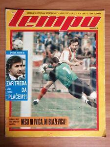 magazine TEMPO #1257 1990 Savicevic, poster Larry Bird Dino Radja Yugoslavia