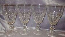 BORMIOLI ROCCO Ice Tea Water Glasses Goblets Vitrosax Line made in Italy 4 13oz