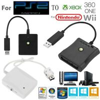 For  to Nintendo Wii/XBox360/XBoxOne Gamepad Controller Converter Cable Adapter