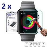 2x For Apple Watch Sport Edition 42mm Premium HD Tempered Glass Screen Protector