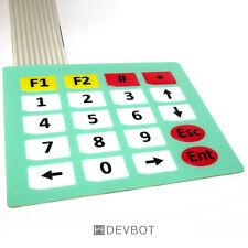 Clavier 20 touches, KeyPad 4x5. Pas de 2.54mm, Arduino, domotique, DIY, Pi