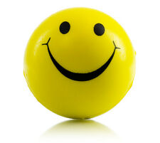 6x Smiley Face Stress Ball (relief ADHD autism toy executive fidget)