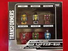 Transformers Takara Legend Exclusive LG-EX Headmaster Set of 6 NEW