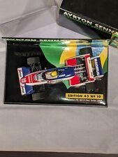 Ayrton Senna Collection No. 10, 1984 Toleman TG183B, F1, 1:43 Minichamps