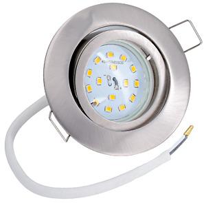 Ultra flacher LED Einbaustrahler 5Watt Einbauspot Deckenstrahler Einbauleuchte