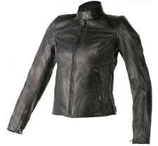 Giacca moto pelle donna Dainese Mike lady nero leather black Motorrad Lederjacke