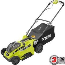 Ryobi Lawn Mower Walk Behind Push One+ Li-Ion Cordless 18V Cutting Deck 16 in.