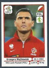 PANINI EURO 2012- #061-POLSKA-POLAND-KKS LECH POZNAN-GRZEGORZ WOJTKOWIAK