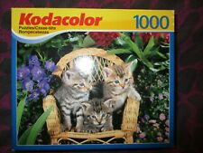 Brand New in Box/Sealed. Puzzle 'Bitty Kittens,' Kodacolor, By Kodak,1000 pc.