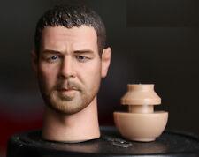 Custom Russell Crowe 1/6 Head Sculpt for Narrow Shoulder Body Gladiator Aci