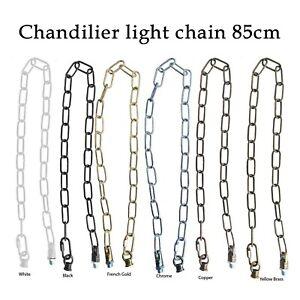 Vintage Suspension Chandelier Chain Extender Pendant Ceiling Light Hanging Chain