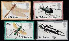 St. Helena postfris 1982 MNH 353-356 - Insekten / Insects (p298)