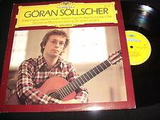 GORAN SOLLSCHER<>BACH BWV 999<>Lp VINYL~Germany Pressing~DG 413 719-1