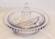 Imperial Candlewick Clear Divided Serving Dish