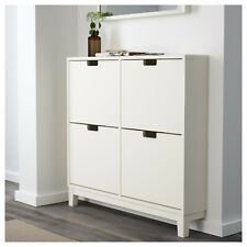 IKEA STALL Shoe cabinet with 4 compartment White