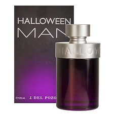 HALLOWEEN BY J. DEL POZO 4.2 OZ/ 125 ML EDT SPRAY FOR MEN NEW IN SEALED BOX