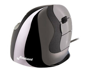 Evoluent VMDS VerticalMouse D Small Right-Hand Wired Ergonomic Vertical Mouse