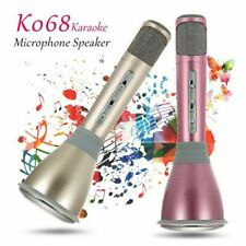 Boxed Wireless Bluetooth Karaoke Microphone Speaker Handheld Mic Usb Player Tc