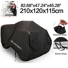 XL Waterproof ATV Cover UV Protector For Honda Yamaha Polaris Sportsman 400/HO