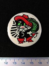 "USSR PIN VINTAGE.Russian Badge. ""Puss'n Boots"".Le Chat Botté.Metal. Very Rare !!"