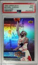 1993 Upper Deck Holojams Holojam Michael Jordan #H4, PSA 9, Pop 19, only 9 10's!