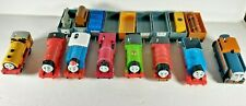 Large Lot Of 8 Thomas The Train Trackmaster and cars
