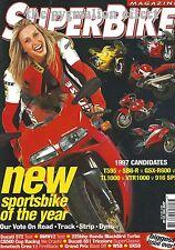 TL1000S GSX-R600 SB6-R 916 SPS T595 VTR1000S ST2 Ducati 851 Tricolore K1200RS TL