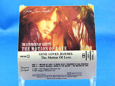 GENE LOVES JEZEBEL - The Motion Of Love - EXCELLENT CONDITION CASSETTE - Canada