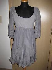 EDC superbe robe tunique grise 36
