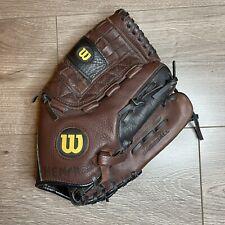 """Wilson A0475 12.5"""" SoftBall Glove RHT Leather"""