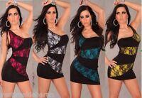 Miniabito Vestitino Donna Vestito Abito Monospalla A883 Tg Unica veste S/M