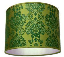 ABAT JOUR SUSPENSION Lampe A MOTIF BAROQUE Anis & Vert