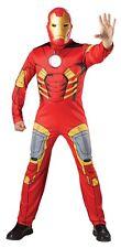 FANCY DRESS COSTUME ~ MENS MARVEL AVENGERS PREMIUM IRON MAN XL