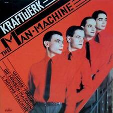 Kraftwerk-THE MAN-MACHINE-KRAUTROCK-new LP RED