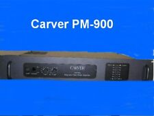 CARVER PM-900  OWNERS  MANUAL  ALL 24 PAGES ON A CD-ROM