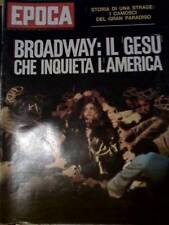 Epoca 1101 1971 Broadway Jesus Christus Superstar