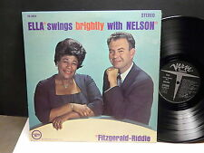 FITZGERALD RIDDLE Ella swings brightly with Nelson VERVE V6 4054