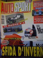 Auto & Sport ROMBO 10 1995 Le nuove F1 Minardi e Ligier - Ferrari F50 520 CV