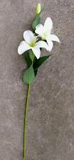 Artificial plants & flowers Oriental Lily white F61