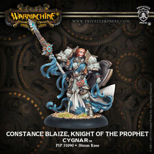 Warmachine: Cygnar Constance Blaize, Knight of the Prophet Morrowan PIP 31090