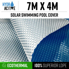 7mx4m UV Stabilised Solar Swimming Pool Cover 400 micron outdoor Bubble Blanket